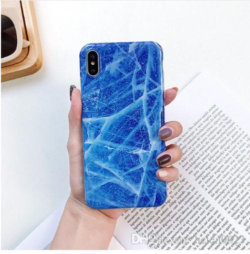 hot sale online ce3be 55123 Best Marble Phone Case For iPhone XS Case For iPhone X XS XR Max 7 6 6S 8  Plus Case Cover 8Plus 7Plus Coque Fundas Mobile phone accessories