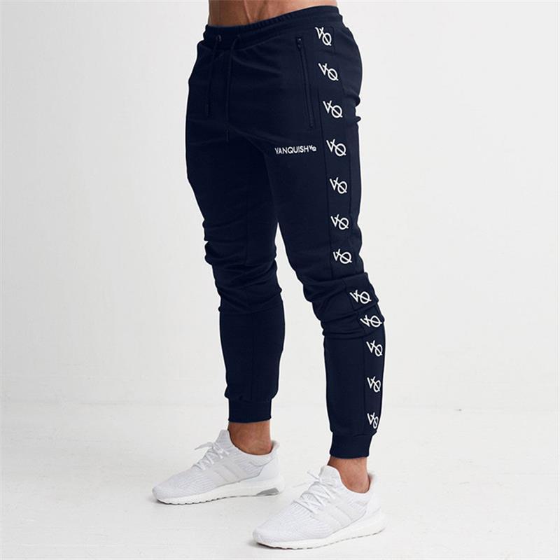 8a6d8420d Pantalones deportivos para hombres Pantalones largos para correr Homme  Pantalones deportivos de fútbol Pantalones deportivos para correr  Pantalones ...