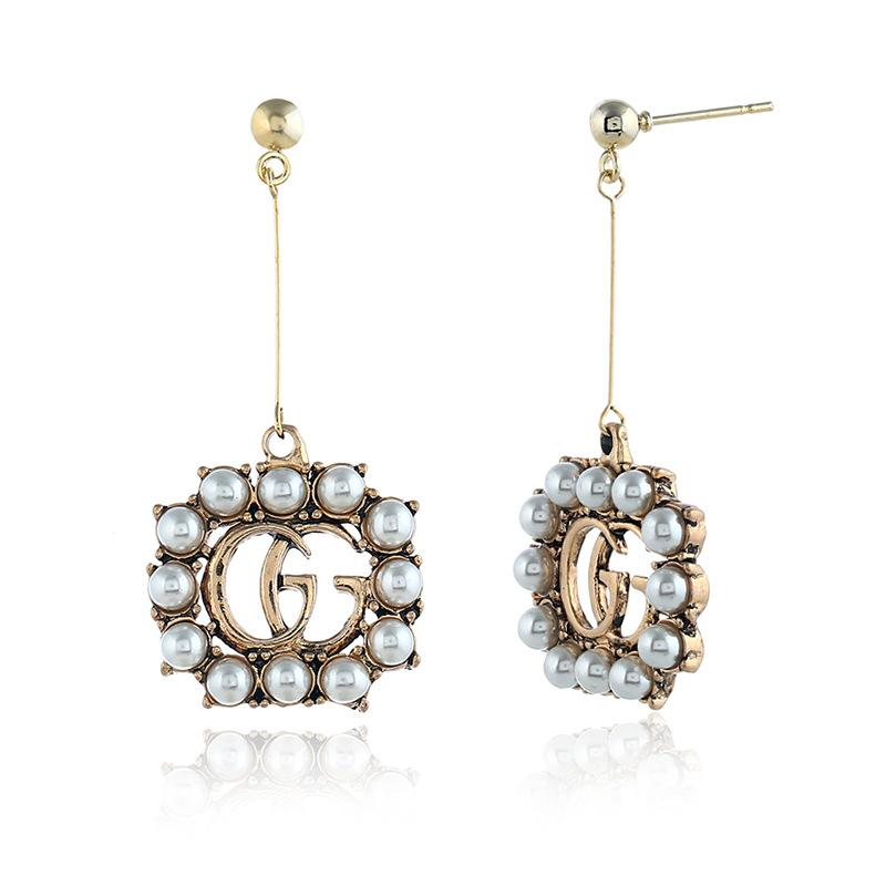 631f2c1bf2d Italy Fashion Letter Earring Cheap High Quality 19ss Women s Stud ...
