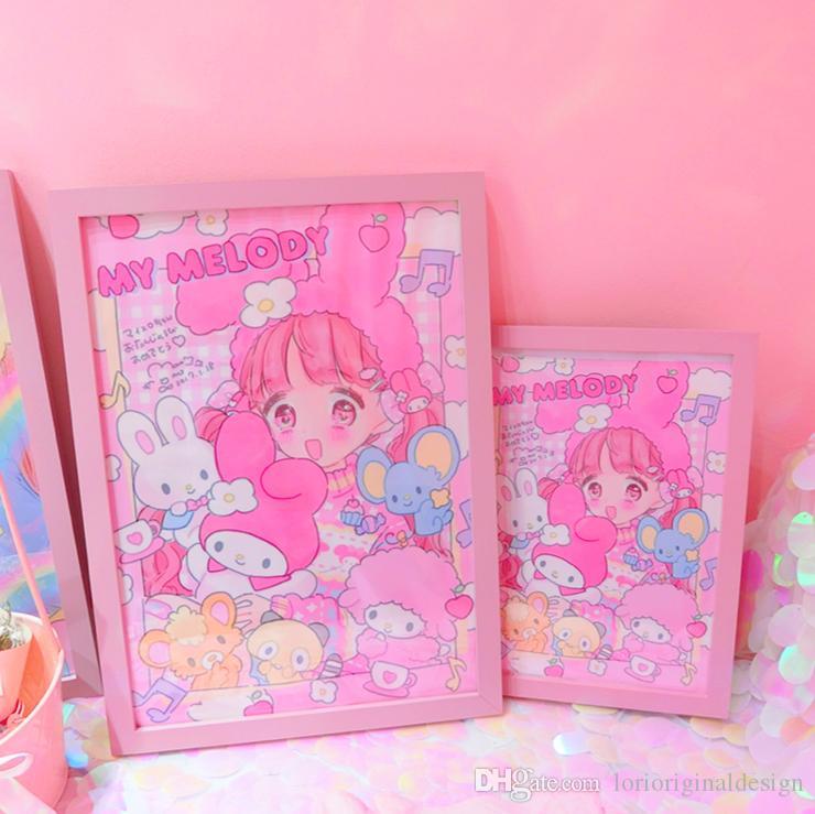 Satın Al Japon Güzel Yumuşak Kız Posteri çerçeve Yumuşak Kız Odası