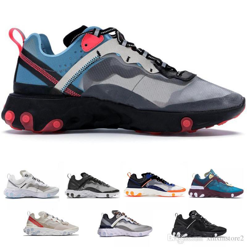 481d53ce26dd Acheter Nike Epic React Element 87 Undercover Epic React Element 87  Chaussures De Course Pour Homme NEPTUNE GREENS Undercover Blue Formateurs  Pour Hommes ...