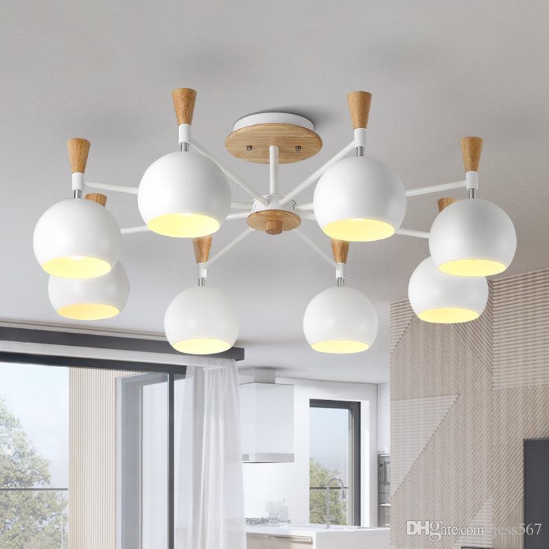 Modern Resin Monkey Lamp Living Room Led Pendant Lights Restaurant Bedroom Luminaire Hanging Lamp Kitchen Fixtures Pendant Light Ceiling Lights & Fans