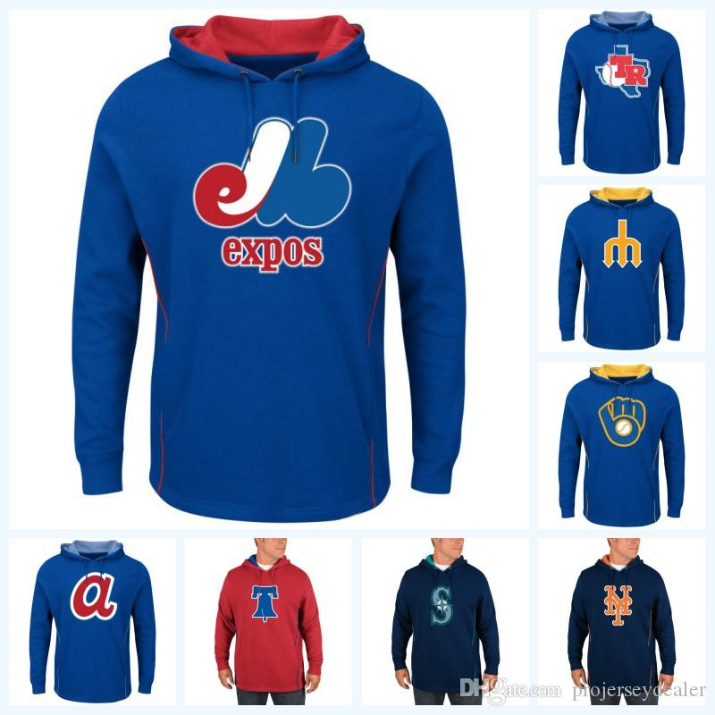 46012f04646 2019 Montreal Expos 2019 New Stly Baseball Hoodies Baltimore New York  Baseall Jersey Customized Any Name   Any Number From Projerseydealer
