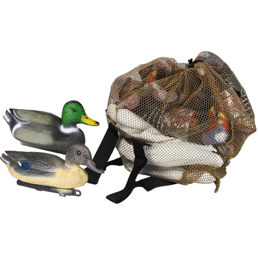 Mesh Decoy Bags Duck Turkey Decoy Bag Hunting With Shoulder Straps  Polyester Mesh Net for Hunting