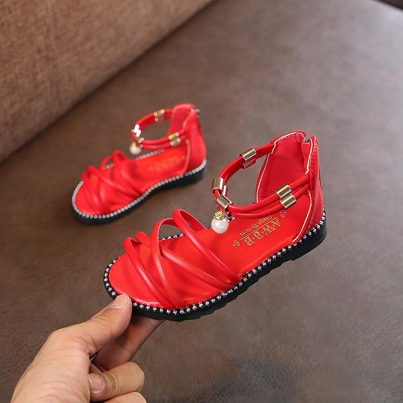 Plage Princesse Chaussures Été Enfants Dames Fille Année Sandales BeQdWrCxo