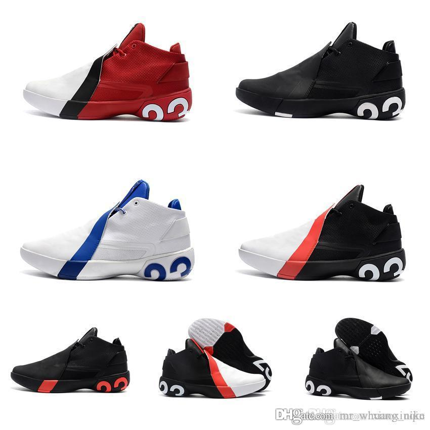 reputable site 256f7 79f10 Acquista Scarpe Da Basket Jumpman Ultrafly 3 Da Uomo Nuove In Vendita  Griffin Butler MVP Scarpe Da Ginnastica Sneakers Nere Slam Dunk 3s Nero Blu  Con ...