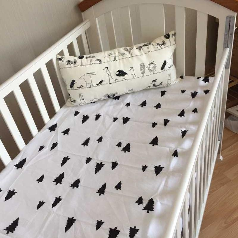Baby Cotton Crib Fitted Sheet For Newborn Cot Sheets Baby Bed Mattress  Cover Beautiful Printing Pattern For Infant Bed Boys Comforter Sets Full  Size Boy ...
