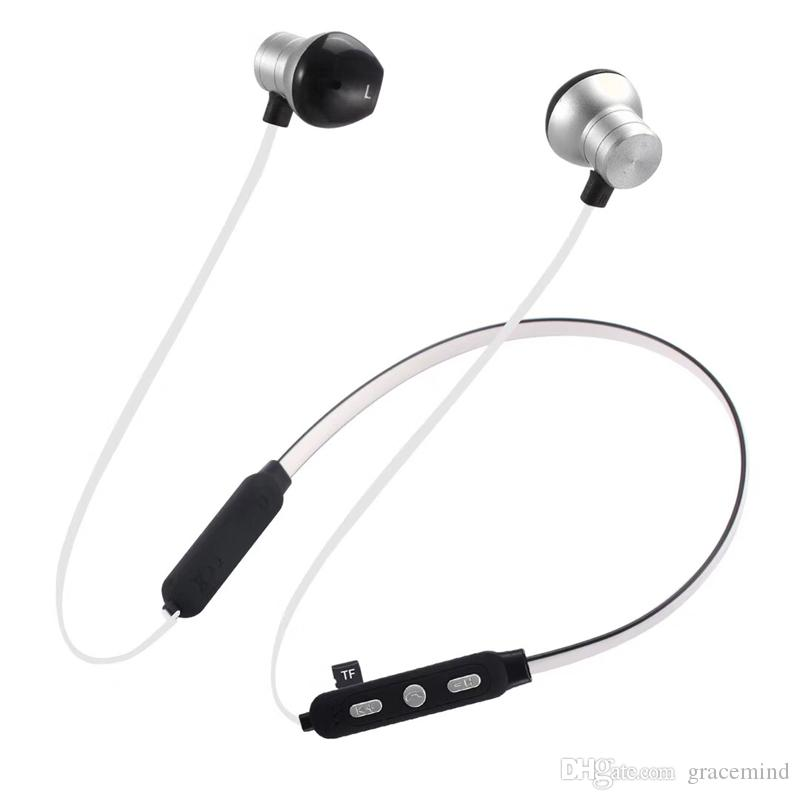 2f330440eae Sport Bluetooth Headset Wireless Stereo Music Bluetooth Neck Band Handsfree  Earphone for Samsung Huawei Iphone in Retail Packing M16 Bluetooth Earphone  .