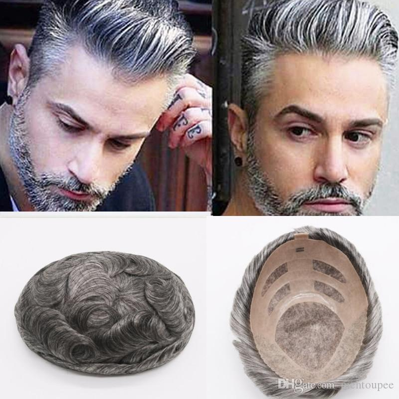 High Quality Men Toupee Can Be Customized Toupee Mono Lace With Npu Men S  Wig Mono Lace Base Wig For Men Durable Replacement Systems UK 2019 From  Mentoupee 214d3a997