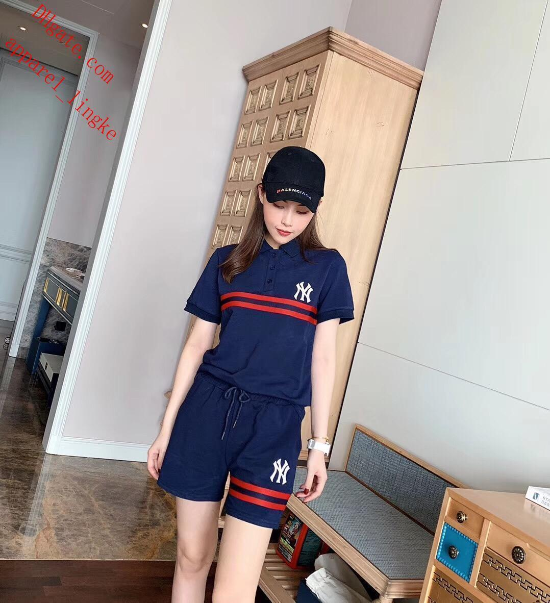 2019 women jogger suit T-shirt 2 piece tshirt short pant sportswear outfits summer clothing women two piece summer outfits