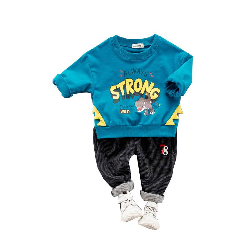 7c00d1710 2019 2019 Spring Toddler Children Clothes Suits Baby Girls Boys Clothing  Cotton Dinosaur Kids T Shirt Pants /Sets Infant Costume From Xiaocao09, ...