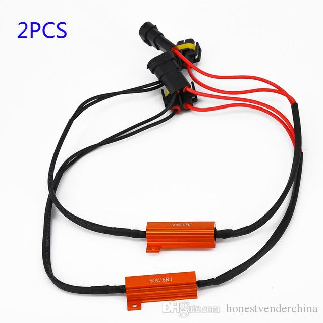 Automobiles & Motorcycles 2x H8 H11 Led Drl Fog Light Canbus 50w Load Resistor Error Free Decoder Cancel At All Costs Accessories