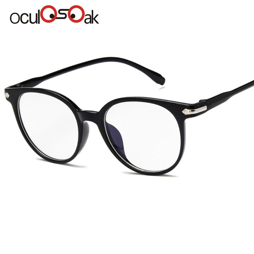 e0b5a2031a 2019 Fashion Women Glasses Frame Men Eyeglasses Frame Vintage Round Clear  Lens Glasses Optical Spectacle Frame Bifocal Sunglasses Retro Sunglasses  From ...