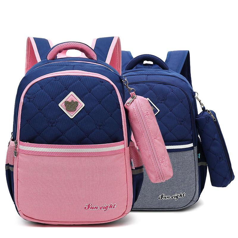 61e650cb96 Fashion Orthopedic Backpack Girl School Bags Zipper Kid School Bag Cute  Children Knapsack School Bag For Girl Boys School Backpacks Cool Backpacks  From ...