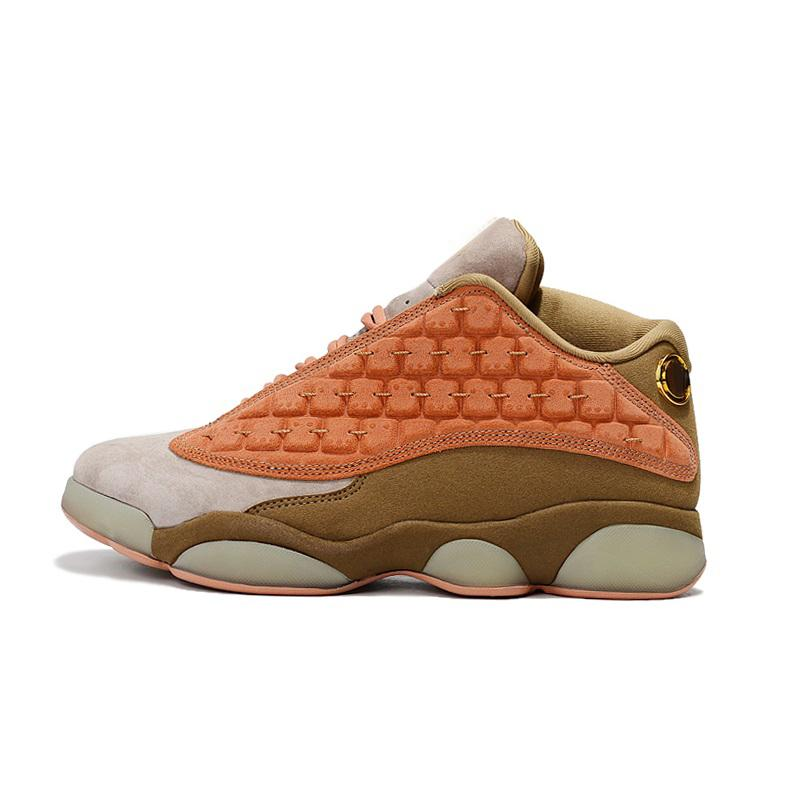 new concept bfb4a 056c7 Cheap retro 13s basketball shoes new aj13 black red orange bred Tan Brown  Gold Yellow youth kids j13 Jumpman XIII sneakers boots with box