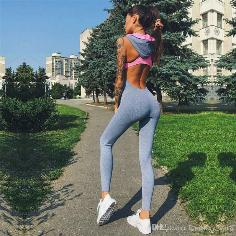 8e08c30d9ab Sports Clothing Yoga Set Women Jersey Gym Clothes Ladies Workout Playsuit  Running Sportswear Yoga Jumpsuit Fitness Apparel #74242