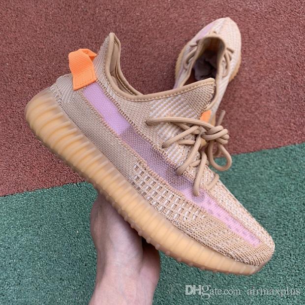 2019 Inertia 700 Wave Runner Mens Women Designer Sneakers New 700 V2 Static 3M Reflective Mauve Best Quality Kanye West Sport Shoes 5-11.5