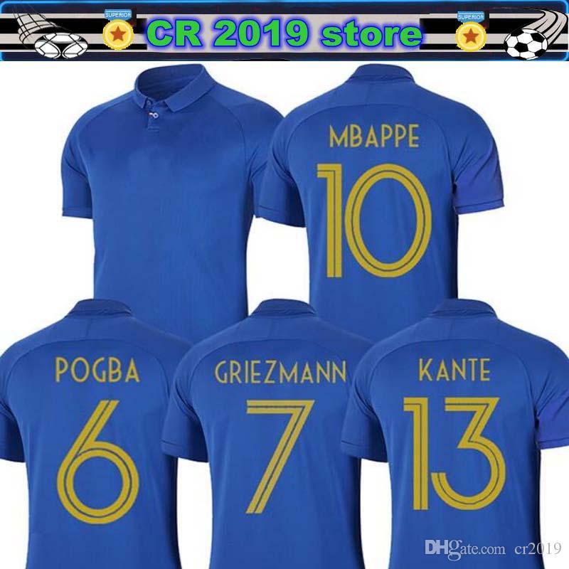 d24ae0e43 2019 France 2019 20 Special Edition Centenary Soccer Jersey HENRY Long  Sleeve 19 20 France Mbappe GIROUD Kante Maillot De Foot ZIDANE Football  From Cr2019