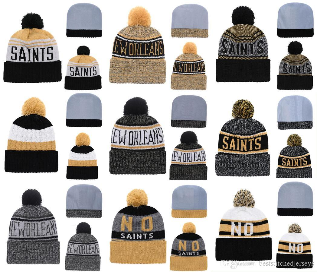 e69b8a7a9ac62d 2019 Hot Sale New Orleans Saints Best Quality Stitched Knit Hats All Teams  Can Mixed Winter Knitted Caps From Beststitchedjerseys, $5.83 | DHgate.Com