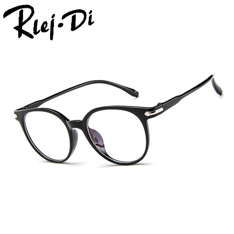 fc74859ab9 2019 TJ001 Women Men Vintage Round Eyewear Frames Retro Optical Glasses  Frame Eyeglasses Goggle Oculos From Marquesechriss
