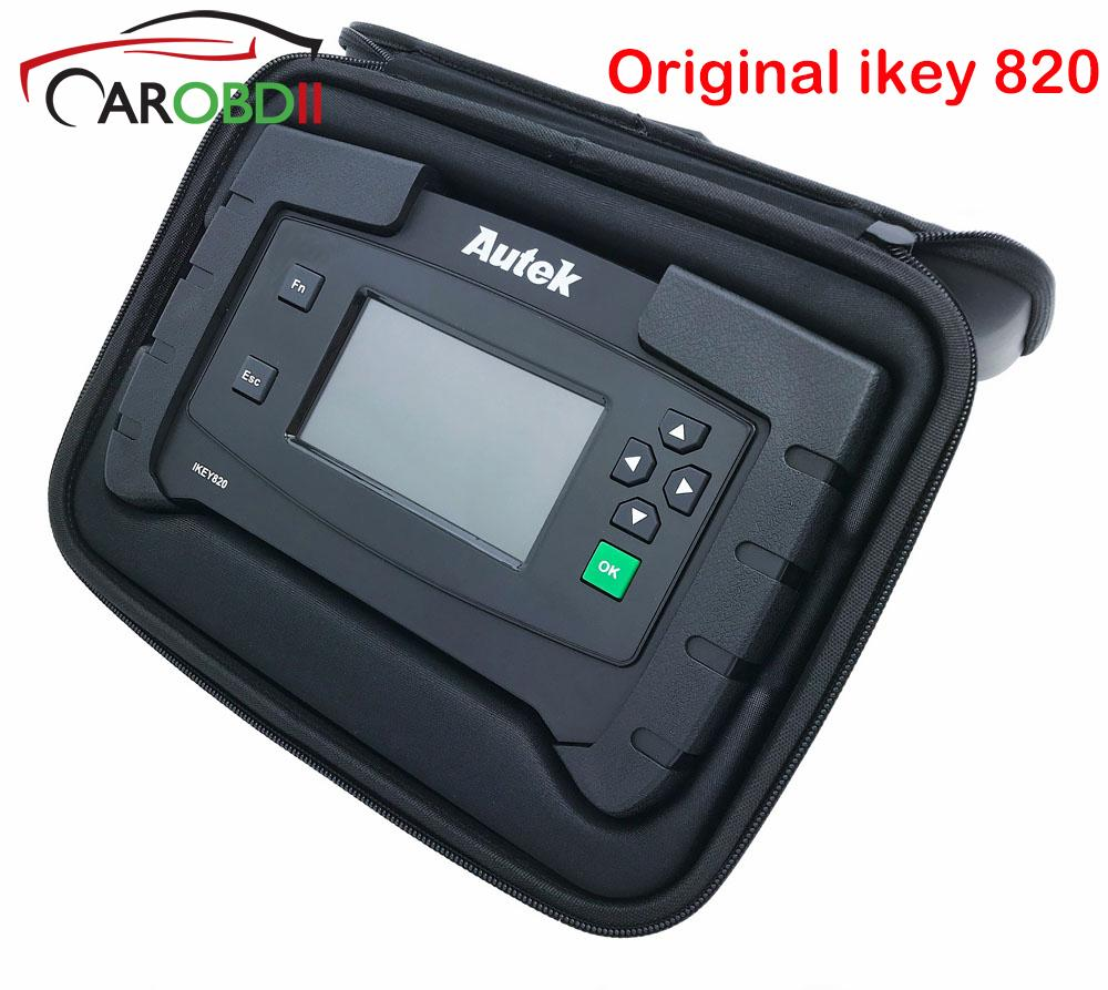 Original Car Autek IKey820 Key Programmer Universal Professional Tool Car  Auto Scanner Key Programmer Read Immobilizer Pin-Codes