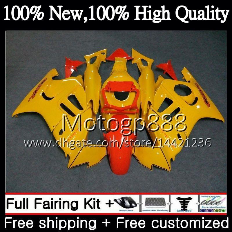 Светло-желтый корпус для HONDA CBR600RR F3 CBR600FS CBR 600 F3 97 98 48PG1 CBR 600F3 FS CBR600F3 CBR600 F3 1997 1998 Обтекатель обвес