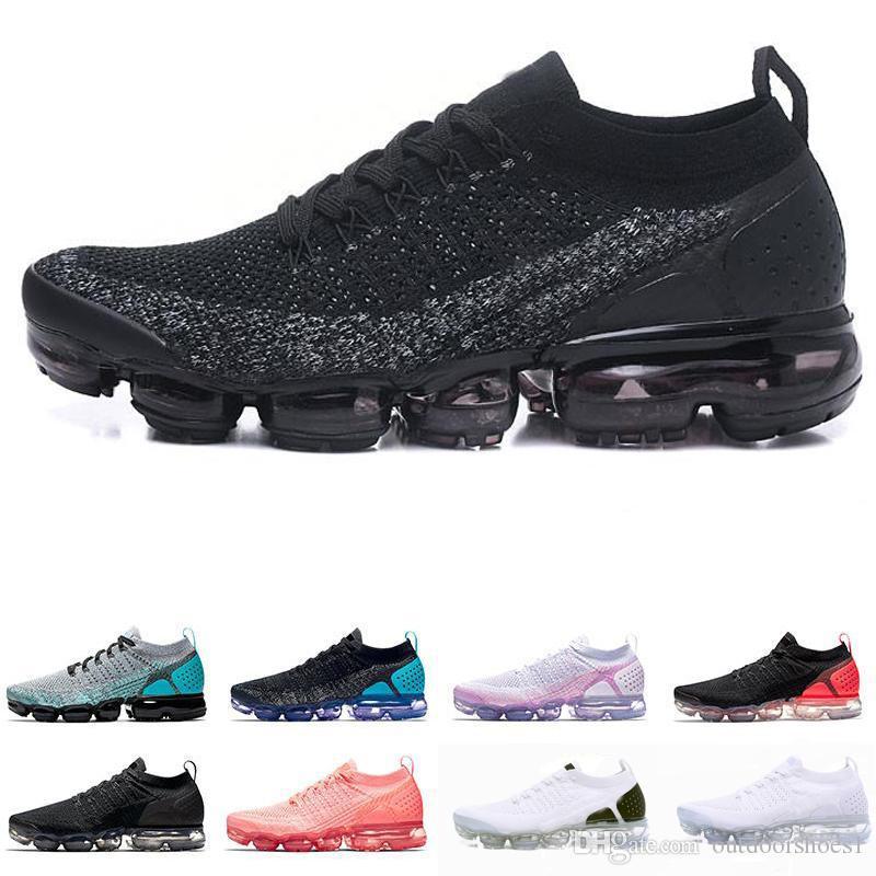 premium selection 55df5 dd2e1 Acquista Nike Air Max Airmax Vapormax Flyknit 2.0 Scarpe Da Uomo Di Alta  Qualità 2019 New Fly 2.0 II FK MOC 2 Da Uomo Casual Scarpe Da Ginnastica Da  Donna ...