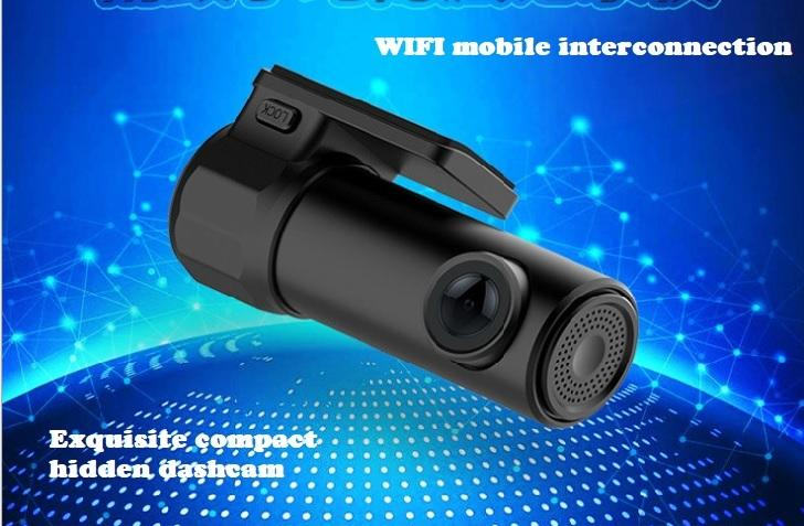 S600 CAR DVR WIFI, motion detection, parking monitoring, multi-function hidden Car DVRs HD 1280P