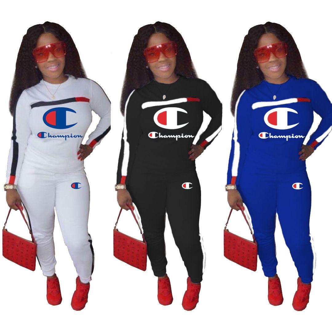 42e1dfe7fca Brand Designer Women Winter Outfits Jogger Set Sweatshirt Leggings  Sportswear Pant Hoodies Tracksuit Sports Brand Designer Women Outfits Brand  Women Outfits ...