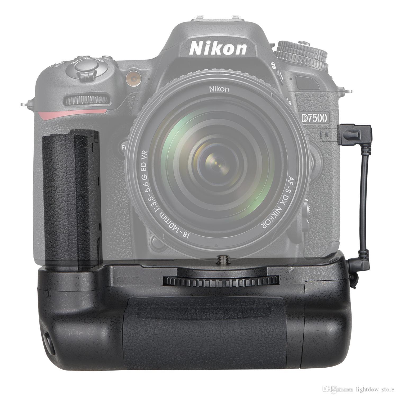 DSLR Cameras Replacement Vertical Battery Grip for Nikon D850 D750 D500  D7500 D3400 D5500/D5600 D7100/D7200 D800/D800E/D810 SLR Cameras