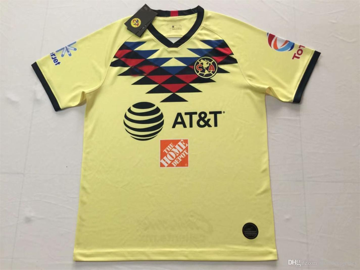brand new 29f06 2ad74 2019 2020 club america jersey Home away 18 19 20 CLUB america soccer  jerseys DOMINGUEZ Matheus Uribe LAINEZ PERALTA MEXICO football shirt