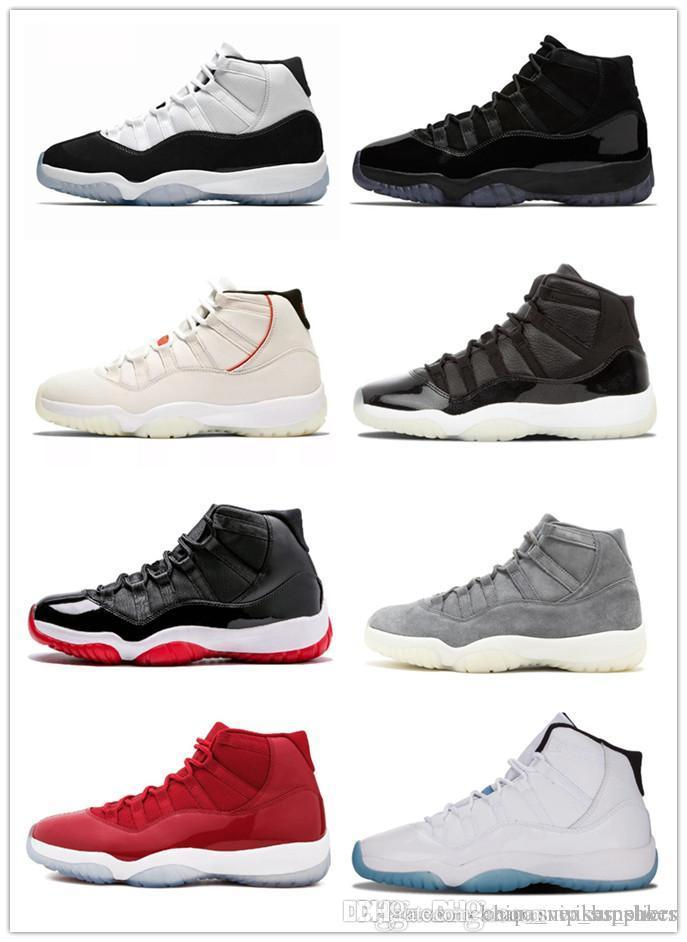 90c9f031cfe3c2 with Box 11s Platinum Tint Concord 45 Cap And Gown Basketball Shoes ...