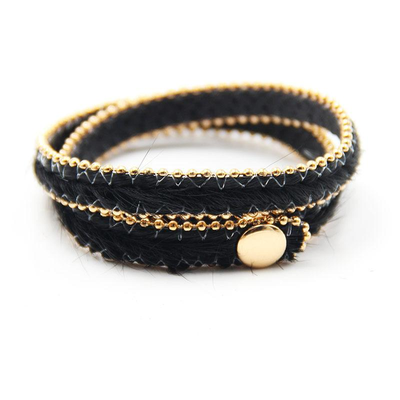 Adjust Bracelet 2019 Spring New Button Adjust Bracelet Multicolor Leopard Print Fine Gifts For Women
