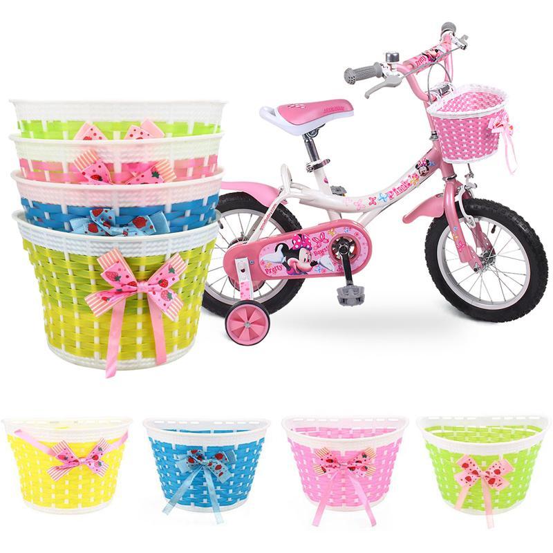 Borsello Anteriore Per Bicicletta Cesto Anteriore Posteriore Cesto Per Biciclette Bici Anteriore Per Bambini Ragazza In Bicicletta
