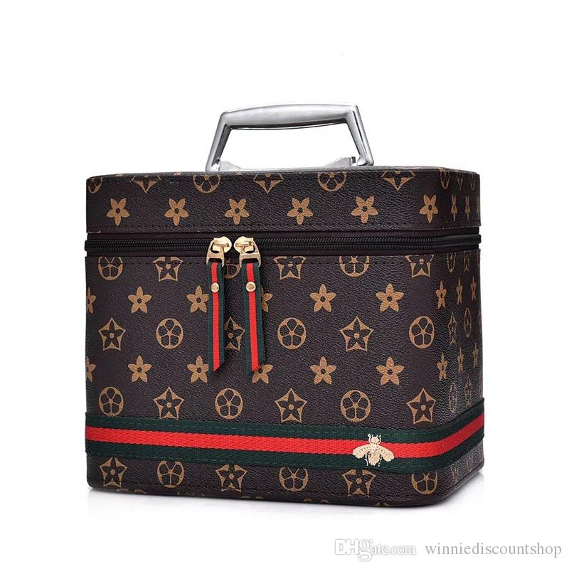 Cartoon pattern makeup cosmetic box cosmetic bag/zip lock travel bag/beauty cosmetic bag with the best design