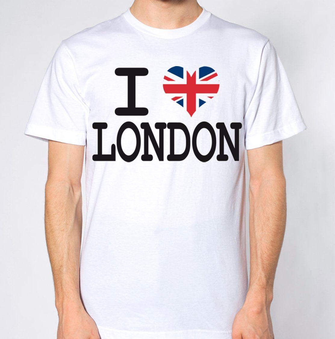 1e704c25c I Love London New T Shirt UK United Kingdom Top Britain Tee British England  LDN Funny Unisex Casual Coolest Shirt Tees T Shirts From Clothing_dealss,  ...