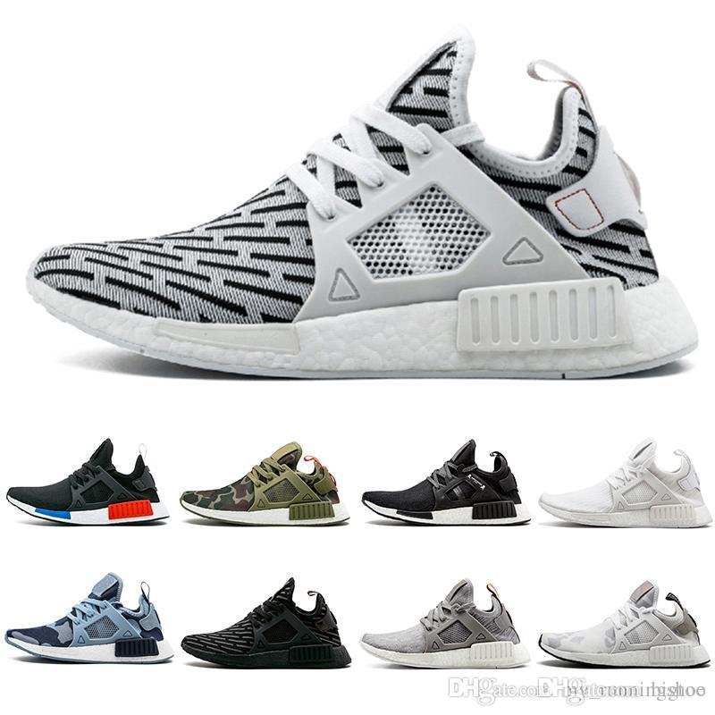 a3b68e5ab83b 2019 Zebra NMD XR1 Running Shoes Mastermind Japan Fall Olive Green Camo  Glitch Black White Blue Pack OG NMDS Runners Sneskers 36 45 From Bigtoo