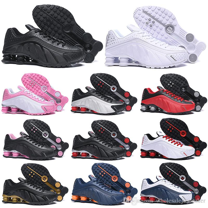 a3c873dab2e OG R4 Running Shoes For Men Women OZ NZ 301 DELIVER Triple Black White Navy  Orange Silver Gold Mens Trainer Sports Sneakers 36 46 White Running Shoes  Womans ...