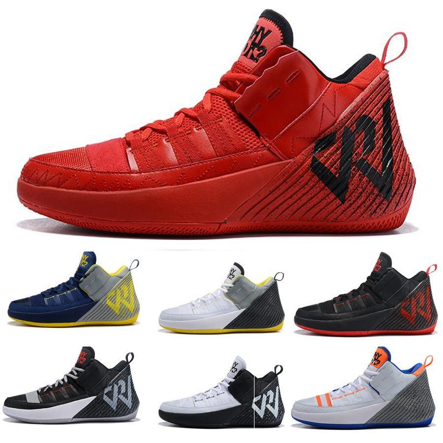 15740a655845 Cheap 2019 NEW Why Not Zer0.1 Men Sports Shoes Chaos Russell Westbrook II 2  Designer Sneakers Zer0.2 V2 Black Orange-Grey Mens Trainers Uumall