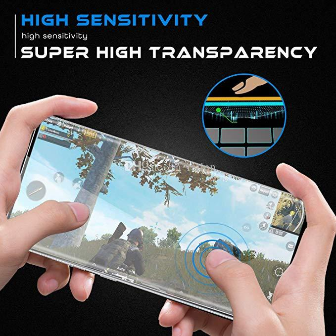 3D Curved Case Friendly Tempered Glass Screen Protector For Samsung Galaxy S21 S20 Ultra S10 Plus S9 s8 Note 20 10 9 Huawei Mate 40 Pro With Edge Glue