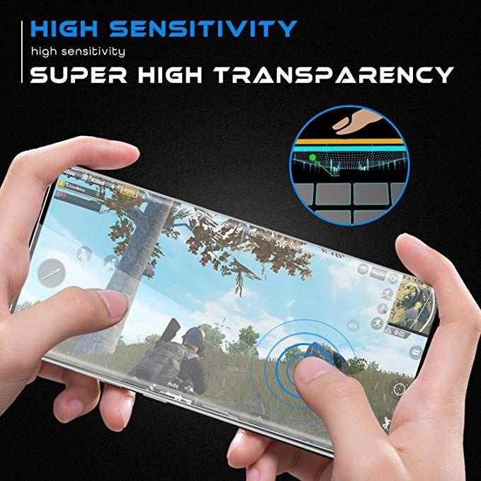 3D منحني حالة واقية من الزجاج المقسى سامسونج غالاكسي S21 S20 Ultra S10 Plus S9 S8 ملاحظة 20 10 9 Huawei Mate 40 Pro مع حافة الغراء