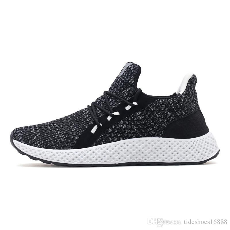 Mens Casual Shoes Men Mesh Sneakers Brand Male Walking Flats Loafers Men  Outdoor Breathable Slip On Shoes 2019 Spring Autumn Shoes Uk Pumps Shoes  From ... f01c738933bb