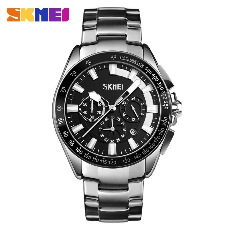 32d26fd35cd7 Compre Relojes SKMEI Relojes De Moda Para Hombre Reloj Deportivo De Cuarzo  Relojes Para Hombre Marca De Lujo De Lujo Reloj Impermeable Relogio  Masculino A ...