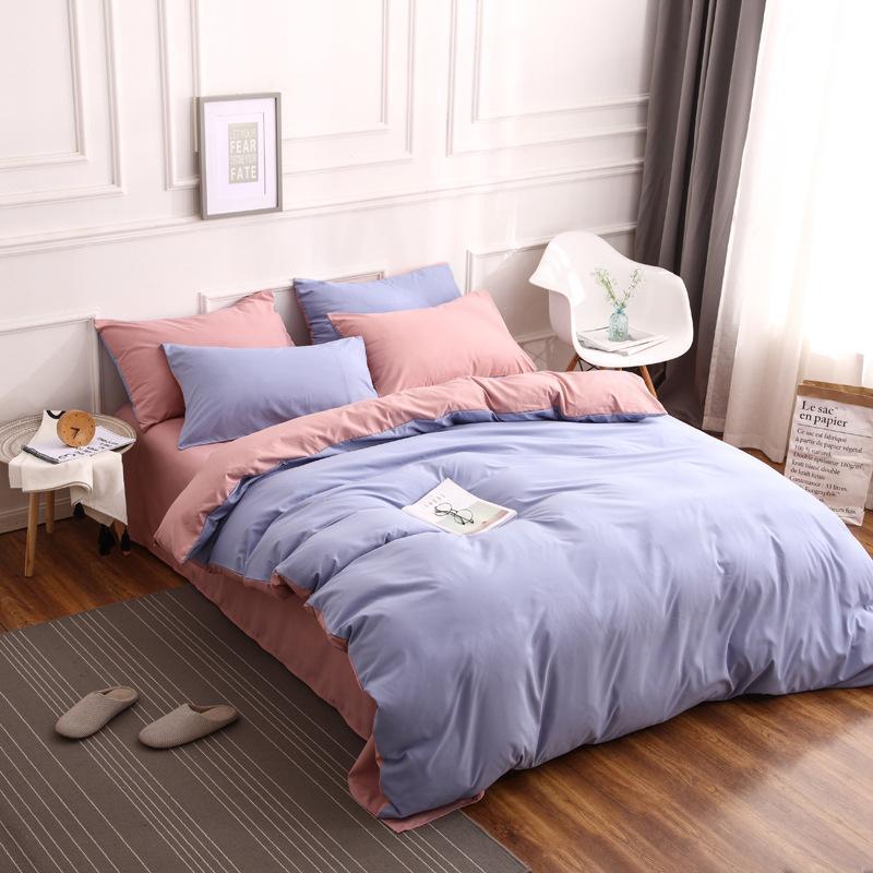 Großhandel New Ins Einfache Bettwäsche Reines Heimtextilien