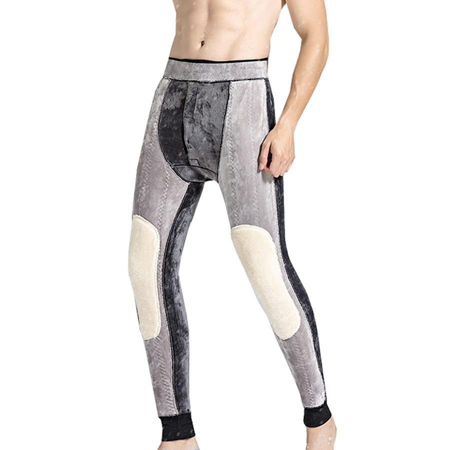 1ebf91f100acb Below Zero 30 Degrees Super Warm Men's Merino Wool Leggings Winter Thermal  Underwear Skinny Fleece Tights For Men Johns Pants