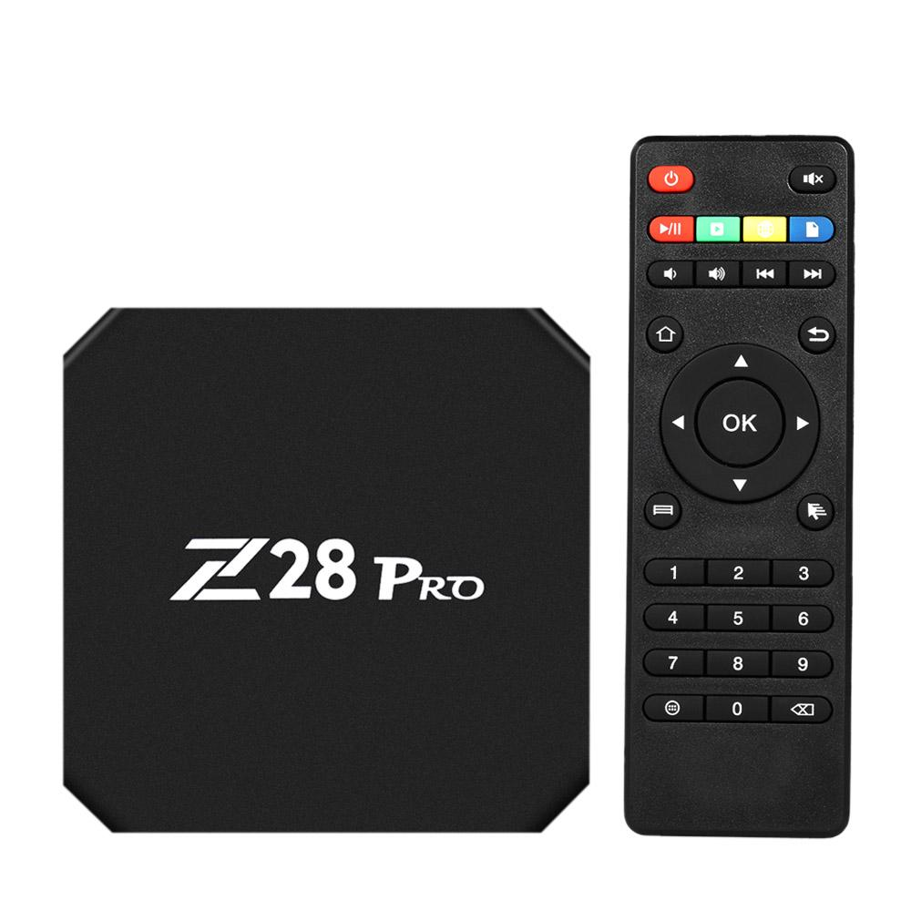 Box TV Smart TV Z28 PRO Android 7.1 RK3328 Quad Core 64 Bit UHD 4K VP9 H.265 4 GB / 32 GB 2.4G / 5G BT4.1 HD TV WiFi