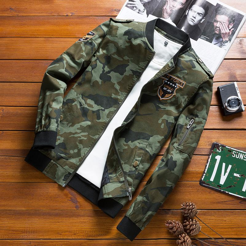 cotton washing camouflage men leisure combat uniform speed sell tong hardboiled men's wear the spring and autumn coat