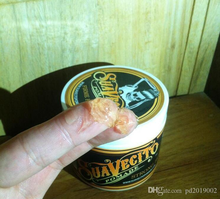 NEW top Suavecito Pomade Strong style restoring Pomade wax slicked back hair oil wax mud keep hair pomade for men