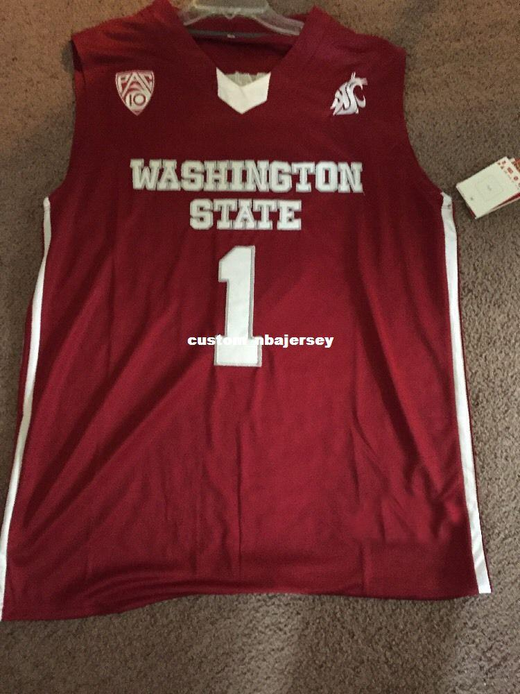 20dd5d3c5e52 2019 Cheap Custom Klay Thompson Washington State Cougars NCAA Basketball  Jersey Stitch Customize Any Number Name MEN WOMEN YOUTH XS 5XL From ...