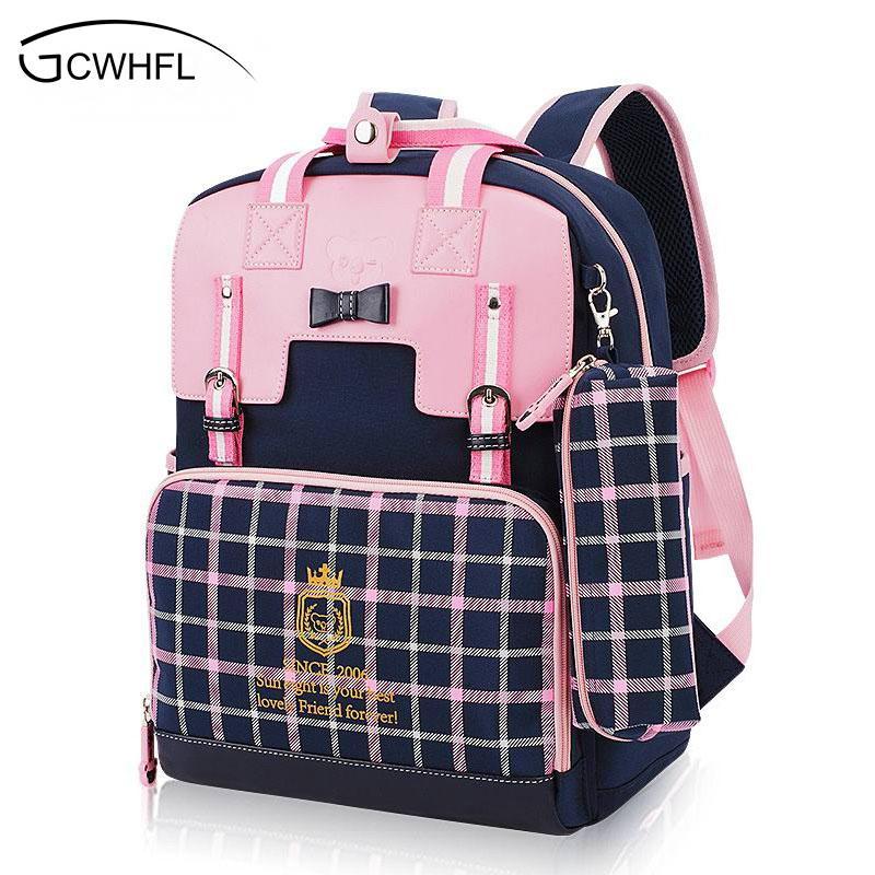 cf46d7432ae0 Waterproof Orthopedic Children School Bags For Girls School Backpacks Kids  Gift Backpack Mochila School Bag Satchel Schoolbag Y18120601 Leather  Backpacks On ...